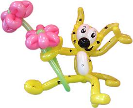 Marsupilami en ballon
