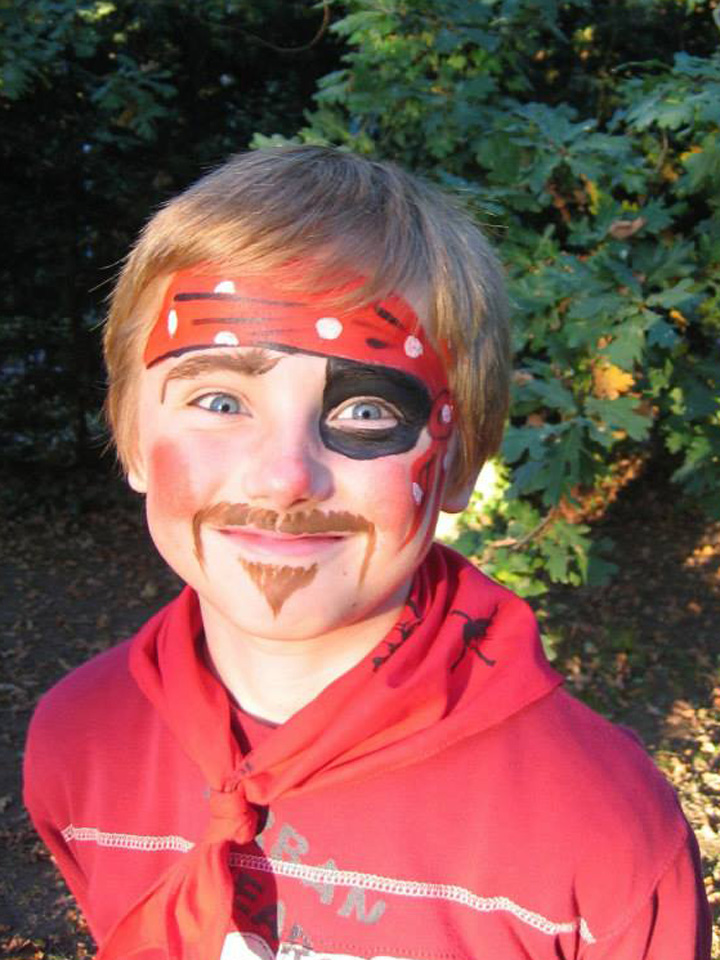 Maquillage-pirate