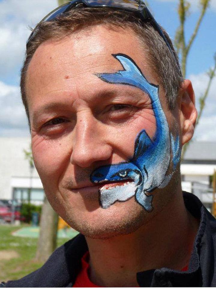 Maquillage-requin